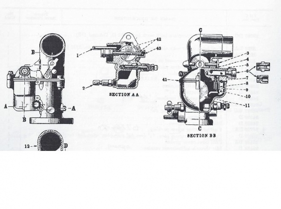 farmall cub engine diagram carb parts - rice equipment inc.